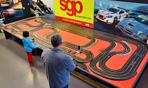 Make sure you keep an eye on your car during a slot car racing