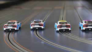 Slot car racing is very enjoyable